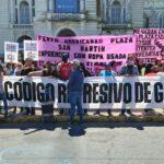 """¡No al represivo y antipopular """"Código de convivencia"""" de Garro!"""